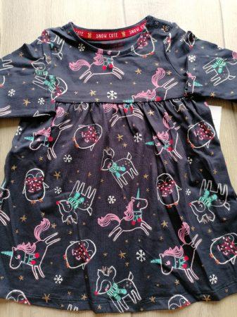 F&F ruhácska s.kék állat mintás ÚJ-címkés (80)