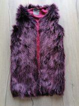 Next mellény szőrme, lilás-bordós színű (134)