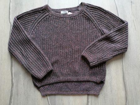 Next pulóver kötött, csillámos (140)