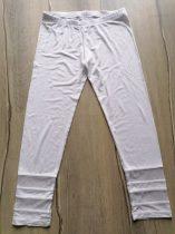 Leggings fehér,alján hálós (170)