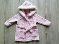 Tu fürdőköntös rózsaszín, felhő mintás Új-címkés (68)
