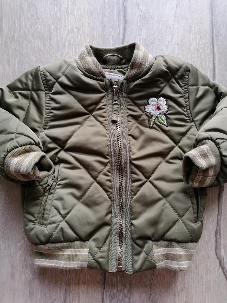 Next kabátdzseki átmeneti zöld, steppelt (86)