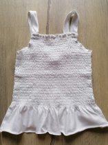 Zara tunika fehér, gumis (128)