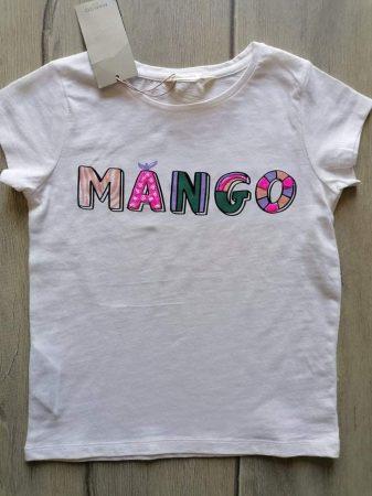 Mango póló, színes feliratos Új-címkés (122)
