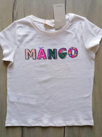 Mango póló, színes feliratos Új-címkés (116)