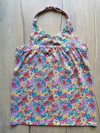 Next trikó/top virág mintás (164)