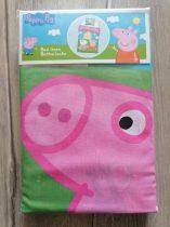 Peppa Pig ágyneműgarnitúra, házikó mintás Új-címkés