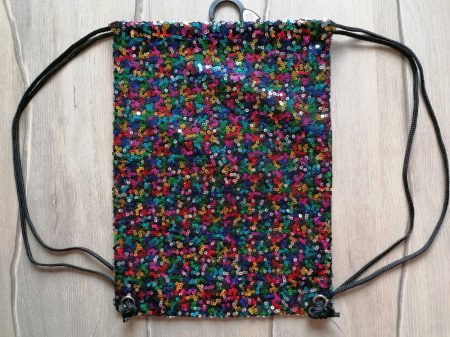 F&F tornazsák színes flitteres Új-címkés