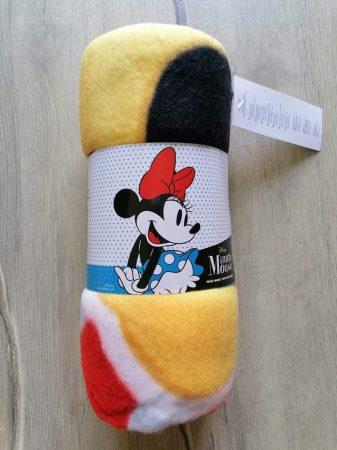 Disney polár takaró Minnie mintás Új-címkés