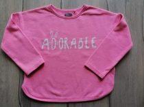 Next pulóver rózsaszín, feliratos (110)