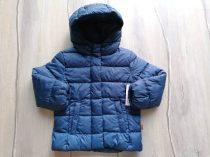C&A kabát kék, apró csillag mintás Új-címkés (92)