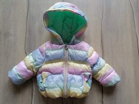 M&Co kabát szivárvány színű (68)