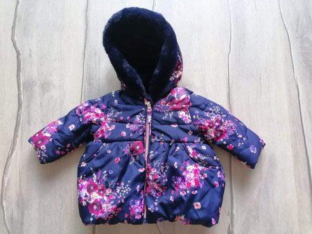 George kabát s.kék, színes virág mintás (68)