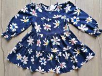 M&S ruhácska s.kék, nagy virág mintás Új-címkés (122)