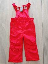 F&F sínadrág kantáros, piros színű Új-címkés (86)