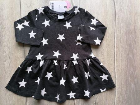 Next ruhácska h.ujjú, csillag mintás Új-címkés (74)