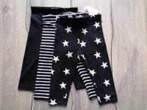 Next leggings szett 3db-os csíkos, csillag mintás Új-címkés (80)