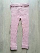 F&F leggings gépi kötött bordázott mintás (110)