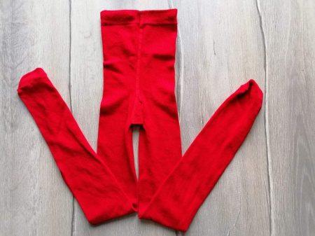 Primark harisnyanadrág piros színű (128)