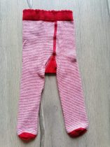 Next harisnyanadrág piros, vékony csíkos (62)