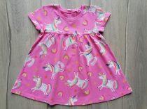 Next ruhácska rózsaszín, unikornis mintás Új-címkés (80)