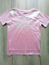 Reserved póló rózsaszín, feliratos (158)