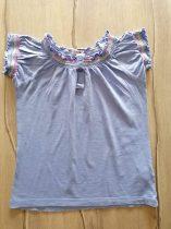 M&S póló/tunika kék színű, gombos (116)