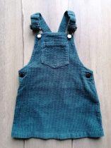 Next ruhácska kantáros, bársony, zöld színű (98)