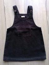 Next ruhácska kantáros, bársony, fekete színű (98)