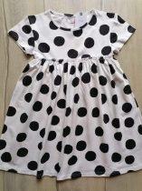Next ruhácska fehér, fekete nagy pöttyös Új-címkés (116)