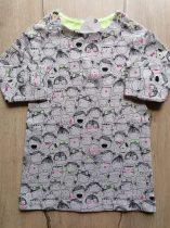 Next ruhácska h.ujjú, gyerekek mintás Új-címkés (92)