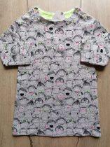 Next ruhácska h.ujjú, gyerekek mintás Új-címkés (104)