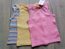 Next trikó szett 3db-os színes csíkos Új-címkés (104)