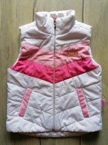 Sindy mellény fehér, rózsaszín csíkokkal (116)