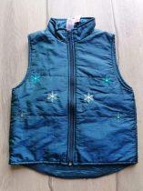 C&A mellény kék színű, hópehely mintás (122)