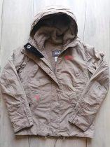 Jack Wolfskin kabát keki színű (140)