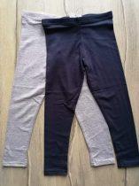Primark leggings szett 2db-os s.kék, v.szürke színű Új-címkés (128)