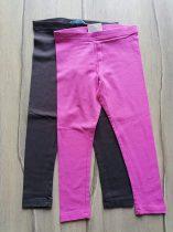 Primark leggings szett 2db-os s.rózsaszín, s.szürke színű Új-címkés (128)