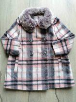 F&F kabát átmeneti, szövet, kockás (104)
