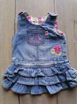 H&M ruhácska farmer anyagú, fodros, virág dísszel (68)