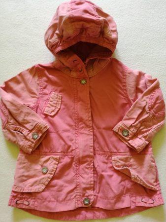 Next rózsaszín zsebes és kapucnis kabát (92)