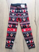 C&A leggings gépi kötött, karácsonyi mintás Új-címkés (110)