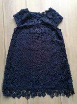 H&M ruhácska s.kék, virág mintás Új-címkés (122)