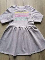F&F ruhácska v.szürke, színes feliratos Új-címkés (122)
