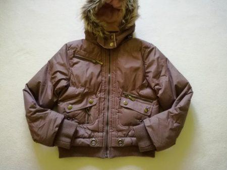 George barna kabát rózsaszín béléssel
