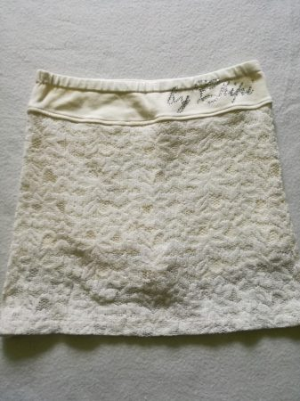 Chipi Chips fehér csipke szoknya-nadrág