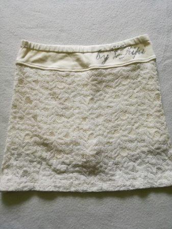 Chipi Chips fehér csipke szoknya-nadrág (152)