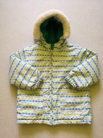 Trespass kabát téli, kék hópehely mintás (92)