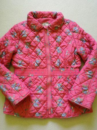 Next kabát, steppelt, virág mintás (140)