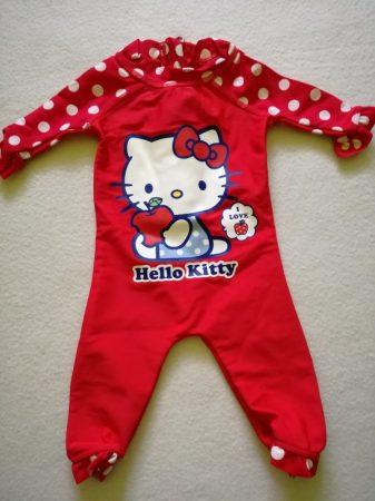 Hello Kitty pöttyös úszóruha (62)